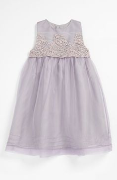 Luli & Me Organza Dress (Infant) available at Nordstrom