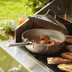 father's day - Steel Grill Chef's Pan with Lid | Williams-Sonoma