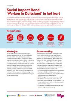 https://www.abnamro.com/nl/newsroom/nieuws/2016/eerste-grensoverschrijdende-social-impact-bond-ter-wereld.html https://www.enschede.nl/nieuws/social-impact-bond-helpt-werkzoekenden-uit-enschede-aan-een-baan-in-duitsland http://www.startfoundation.nl/nieuws/nieuws/lancering_social_impact_bond_%E2%80%98werken_in_duitsland%E2%80%99