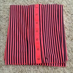 Lululemon Vinyasa Scarf Excellent used condition orange/coral and black stripe vinyasa. Pet and smoke free home. lululemon athletica Accessories Scarves & Wraps