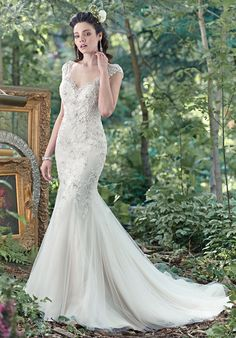 Maggie Sottero Romyn Mermaid Wedding Dress