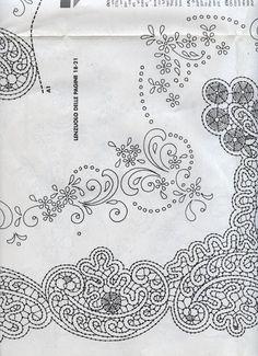 Disegni Cantù da riviste varie (Bolillos) Needle Lace, Bobbin Lace, Romanian Lace, Point Lace, Cut Work, Lace Patterns, Crochet Designs, Renaissance, Tapestry
