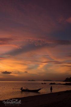 Sunset beach, Koh Phangan
