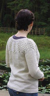 Antler Cardigan pattern by tincanknits