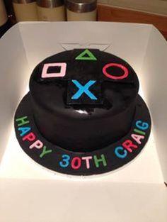 Joystick Birthday Cake Ideas