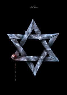Gaza War by Hani Douaji, #composing #photoshop #creative <<< found on www.behance.net pinned by www.BlickeDeeler.de