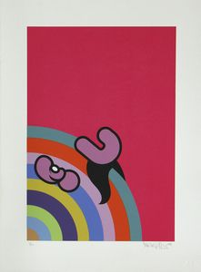 Image of Colourwheel Screenprint • £100 • Mr Penfold