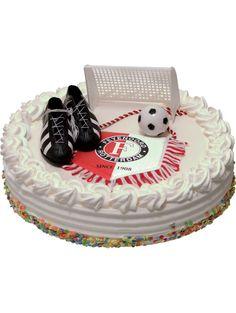 Feyenoord Fondant, Birthday Cake, Cupcakes, Desserts, Rotterdam, Football, Sports, Events, Tailgate Desserts