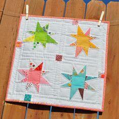 Texas Freckles: Flea Market Fancy mini quilt