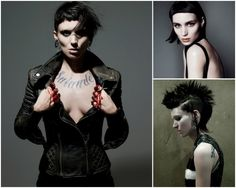 Rooney Mara as Lisbeth Salander in David Fincher's The Girl with the Dragon Tattoo.