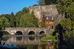 bridge Fresnay sur Sarthe France by *hubert61 on deviantART
