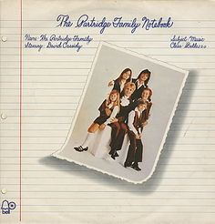 For Sale - The Partridge Family The Partridge Family Notebook UK  vinyl LP album (LP record) - See this and 250,000 other rare & vintage vinyl records, singles, LPs & CDs at http://eil.com