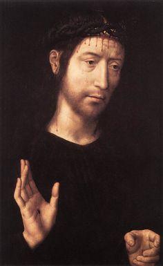Christ à la couronne d'épines, par Hans Memling