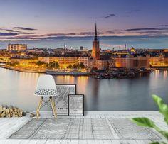 Stockholm panorama Tapet