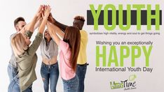 If you think yourselves as weak, weak you will be. If you think yourselves as strong, strong you will be. Happy National Youth Day from LimeTime Shuttle #limetimeshuttleservices #youthday