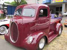 1947 Ford COE truck. Cab over truck.