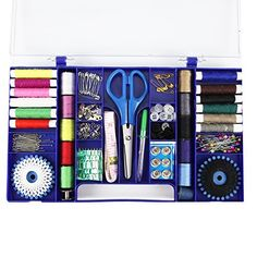 Modern Sewing Basket Kit Comes Complete with Everything You Need to Tackle the Most Complicated Sewing Projects - and Have ALL Your Accessories Right at Your Fingertips!