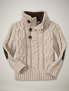 Cute little sweater for boys. $39.95