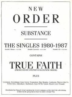 New Order: Substance