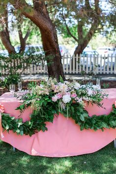 Bride + groom table // www.prettyisthis.com