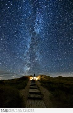 A place in Ireland where every two years on June 10-18 the stars line up with this place. Called Heavens Trail