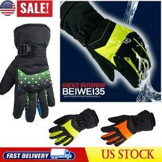 Lovely Winter Mens Windstoppers Gloves Anti Slip Windbreaker Thermal Warm Touchscreen Breathable Glove Men Women Zipper Ski Gloves Profit Small Men's Gloves