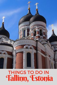 St Alexander Nevsky Cathedral is one of the things to see and do in Tallinn, Estonia with kids.