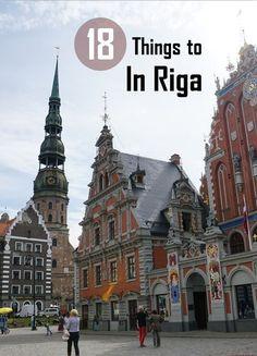 Riga es la hermosa capital de Letonia. El encantador casco antiguo es un sitio del patrimonio mundial de la UNESCO.