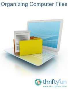 This is a guide about organizing computer files. Keeping your files organized can be really helpful. You will be able to find things more quickly and it will help keep your computer's desktop less cluttered.