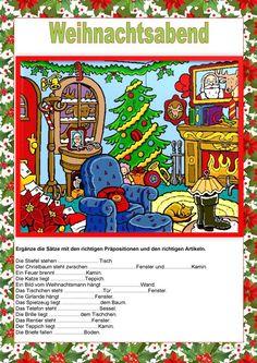 weihnachten kostenlose daf arbeitsbl tter weihnachten daf daz natal no curso de alem o. Black Bedroom Furniture Sets. Home Design Ideas