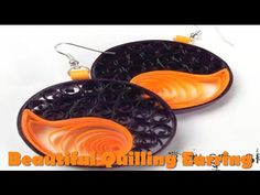 Art & Craft: How to make Quilling Earrings Paper Quilling Art -Quilling Made Easy - YouTube