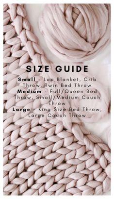 Chunky Yarn Blanket, Knot Blanket, Hand Knit Blanket, Large Knit Blanket, Chunky Knit Yarn, Knitting Blanket Patterns, Swaddle Blanket, Finger Crochet, Knitted Blankets