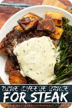 Steak Dinner Recipes, Meat Recipes, Indian Food Recipes, Cooking Recipes, Healthy Recipes, Irish Recipes, Meals With Steak, Steak Sauce Recipes, Grilling Recipes