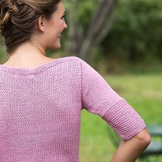 Dinah - a top-down pullover from Spring 2016 #Knitscene. http://ift.tt/1WZH5Dt