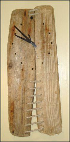 driftwood Clock | Driftwood Wall Clock