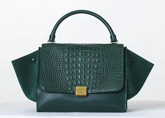 Celine Crocodile Trapeze Bag Fall 2013