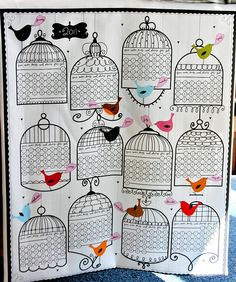 Fabric Of the Week: Tea-Towel Calendar by Spoonflower Fabrics, via Flickr