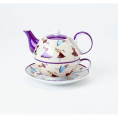 Dancing Fairies Tea For One with Saucer