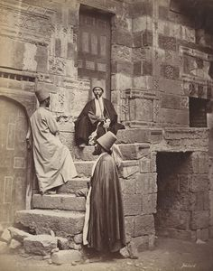 Dervishes in Egypt. Photo: Henri or Émile Béchard Naher Osten Old Egypt, Ancient Egypt, Old Pictures, Old Photos, Naher Osten, Whirling Dervish, Kairo, Mystique, Egyptian Art