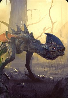 Post with 26751 views. The Witcher Gwent Card Art Fantasy Kunst, Dark Fantasy Art, Fantasy Artwork, Fantasy World, The Witcher Wild Hunt, The Witcher 3, Wild Creatures, Fantasy Creatures, Mythical Creatures