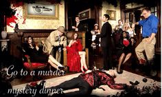 Spend the night finding murderers!