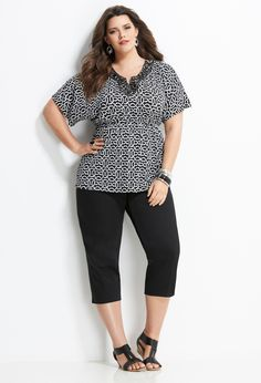 Striking Prints | Plus Size Outfits | Avenue...This would be great for work