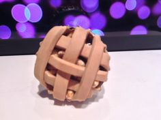 Apple Pie Ring by PunkInPink on Etsy
