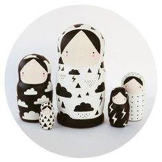 Weather Girls Nesting Dolls | Sketch.inc