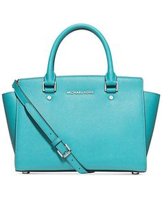 MICHAEL Michael Kors Selma Satchel Large: R$1620,00  Medium: R$1400,00
