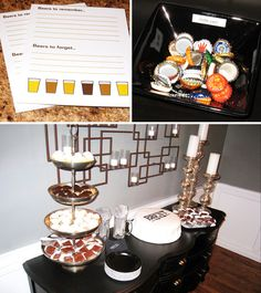 Beer tasting party - what a fun idea!  I think this will be our Oktoberfest plan for next year, or for Brandon's birthday!
