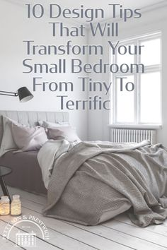 A small bedroom can pose a problem when it comes to designing a new look. We've compiled some of our favourite design tips for tiny chambers that'll beautify your boudoir on a budget. #bedroomdesign #smallbedroom #bedroomdecor Real Estate Staging, Us Real Estate, Selling Real Estate, Interior Design Advice, Minimalist Scandinavian, Home Staging, Being A Landlord, Boudoir, Small Spaces