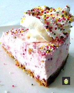 Strawberries cheesecake NO BAKE Recipe