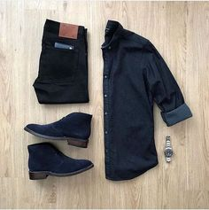 Tuesday - Looking for a date night outfit? By thx for sharing an awesome outfit 🙌👍 . Men Fashion Show, Suit Fashion, Mens Fashion, Fashion Outfits, Style Fashion, Fashion Tips, Stylish Mens Outfits, Cool Outfits, Casual Outfits