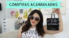 COMPRAS ACUMULADAS / ROPA Y MAQUILLAJE